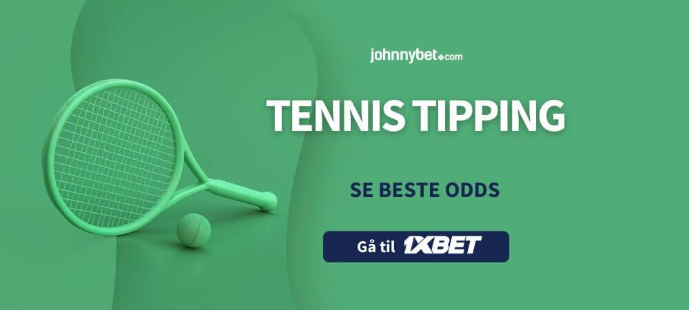 Tennis tipping 1xbet