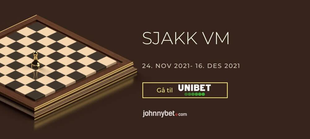 Sjakk VM 2021 Odds