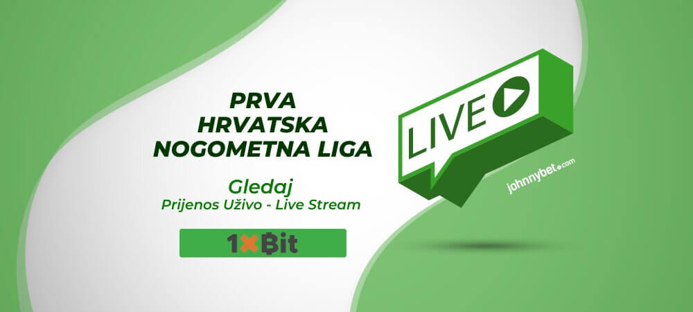 1.HNL Prijenos Uživo - Live stream