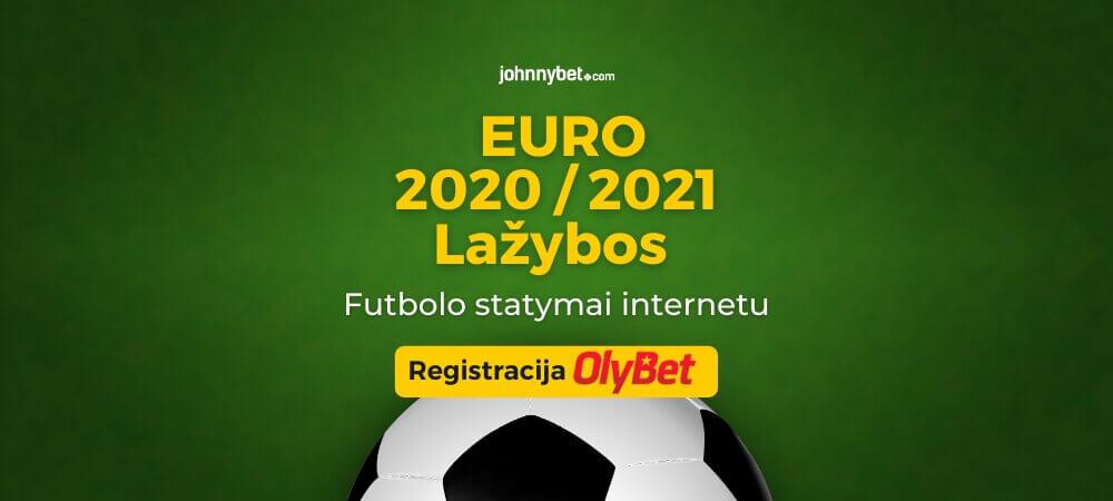 Europos Futbolo Čempionato 2020 / 2021 Lažybos