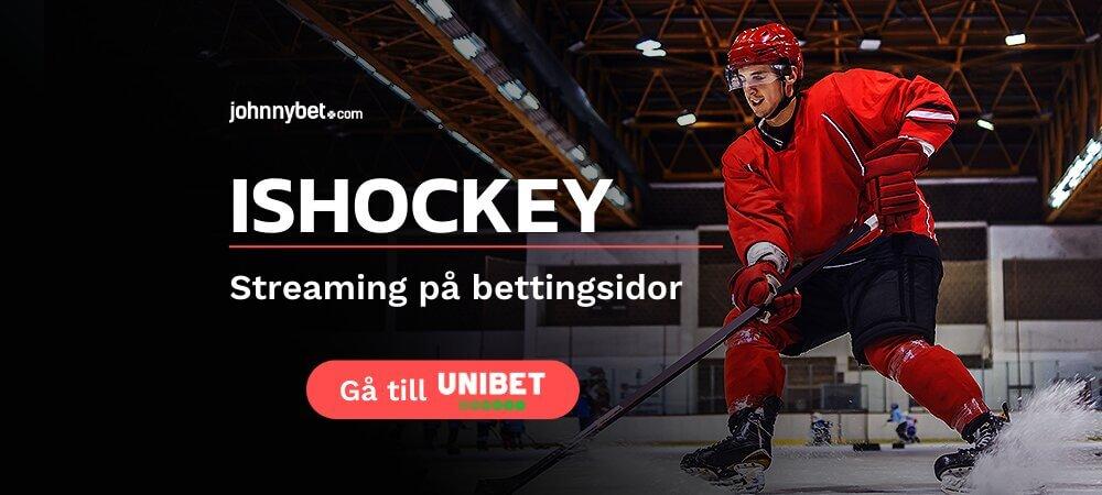 Unibet gratis livestreaming ishockey