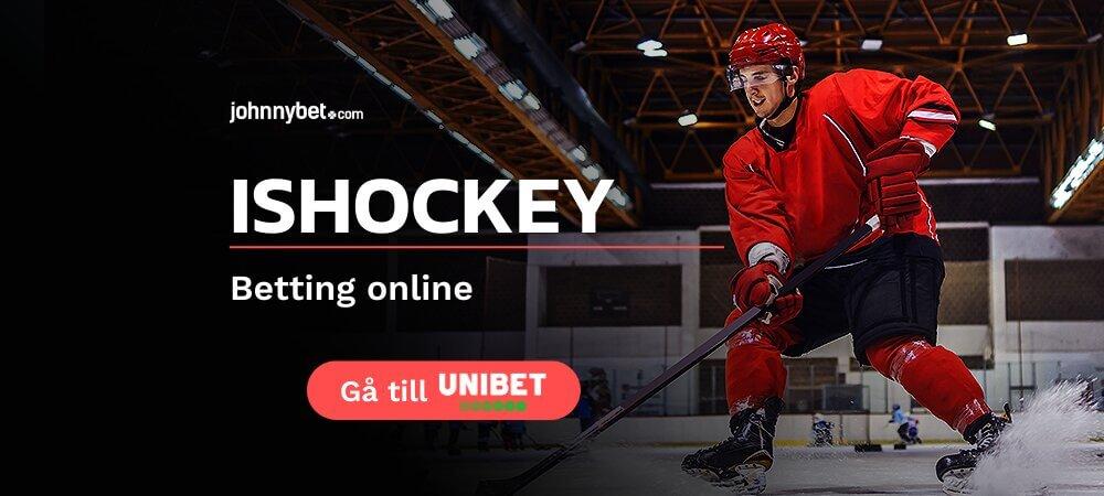 Unibet online sportbetting ishockey