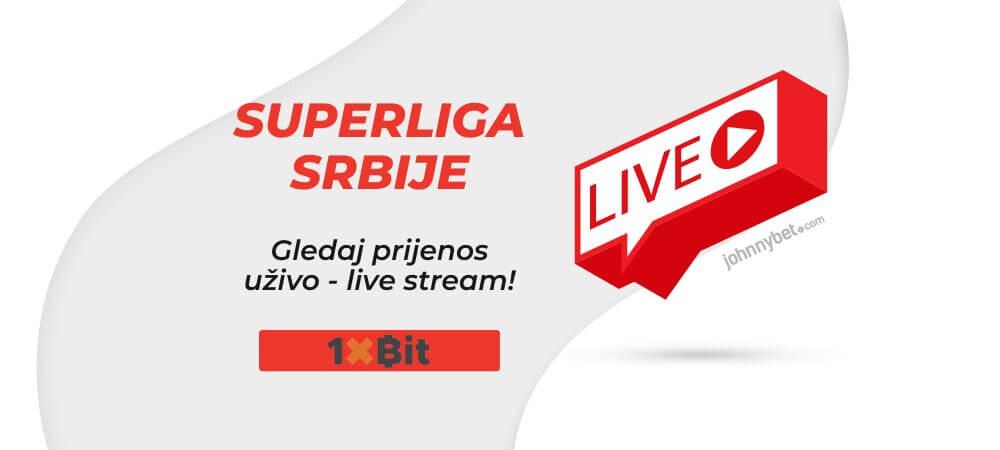 Superliga Srbije Prijenos Uživo