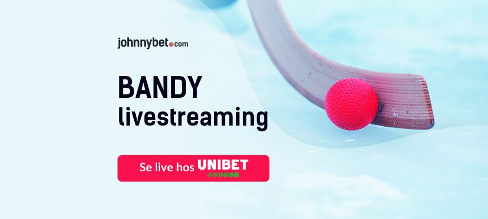 Streaming live bandy unibet
