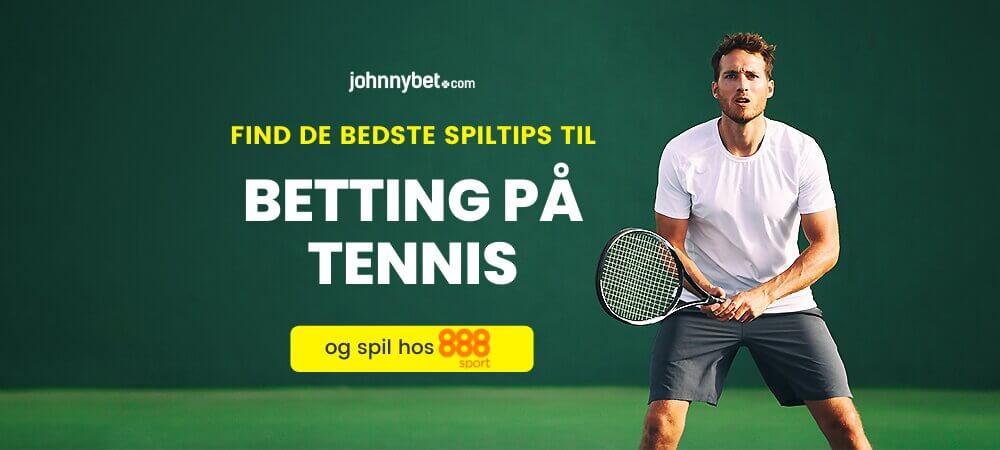 Tennis betting odds banner 888