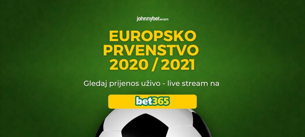 Europsko Prvenstvo 2020 / 2021 Prijenos Uživo - Live Stream