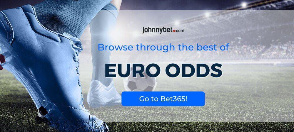 Euro 2020 / 2021 Odds