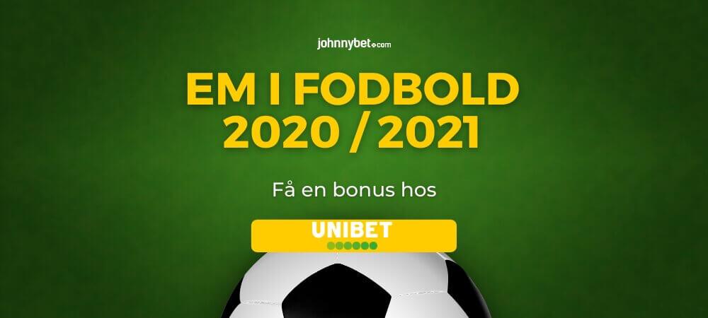Em fodbold betting odds banner unibet