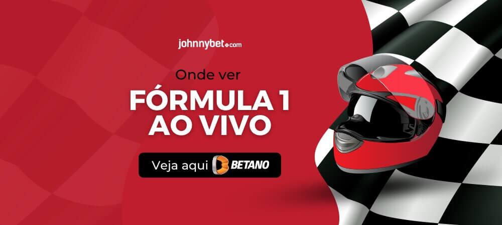 Formula1 ao vivo betano