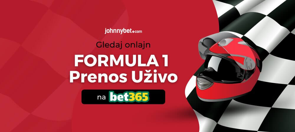 Formula 1 prenos bet365