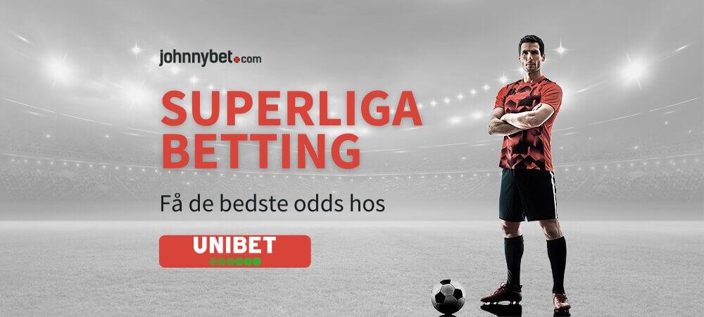 Superliga odds banner unibet
