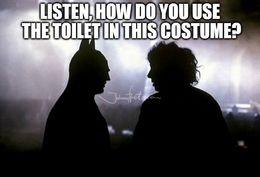 Bat costume issue memes