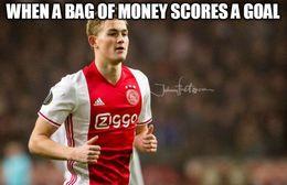 Matthijs de ligt goal memes
