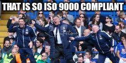 Iso 9000 compliant memes