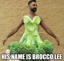Brocco lee memes