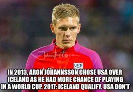 Aron johannsson memes