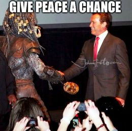 Give peace a chance memes