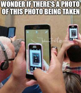 Photo being taken memes