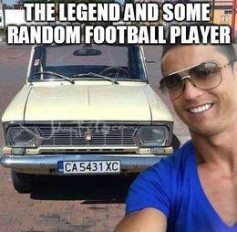 The legend memes