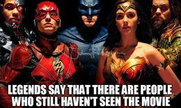 Legends say justice league memes