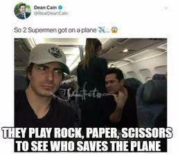 Saves the plane memes