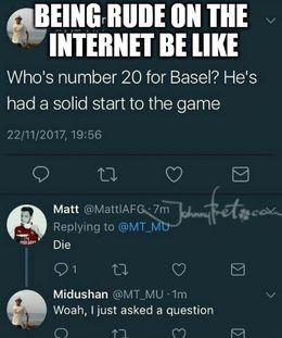 Being rude memes