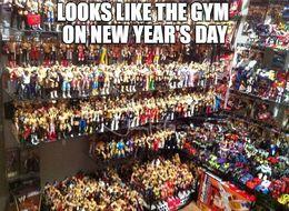 Gym funny memes