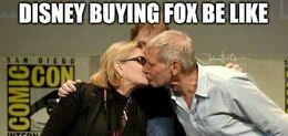 Disney buying fox memes