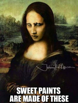 Paints funny memes