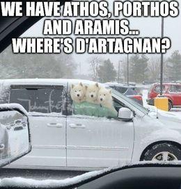 Athos porthos memes
