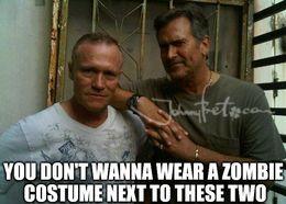 Zombie costume memes