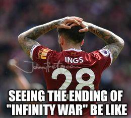 Ending of infinity war memes