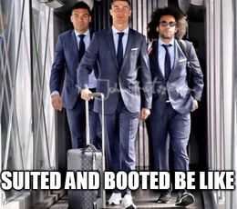 Suited funny memes