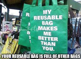 Reusable bag memes