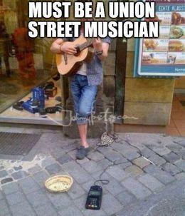 Street musician memes