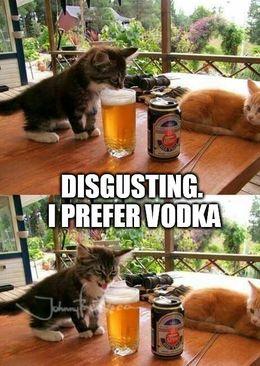 I prefer vodka memes