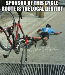 Cycle route memes
