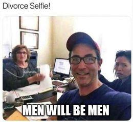 Men will be men memes