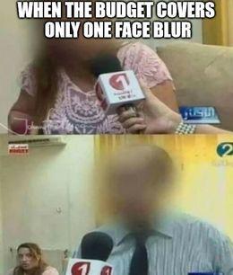 Face blur memes