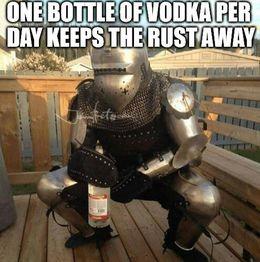Bottle of vodka memes