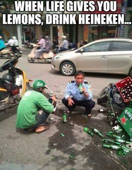 Drink heineken memes