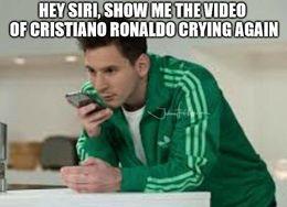 Ronaldo crying memes