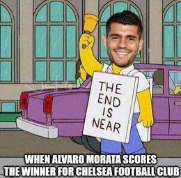 Alvaro morata funny memes