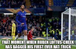 Ruben loftus cheek memes