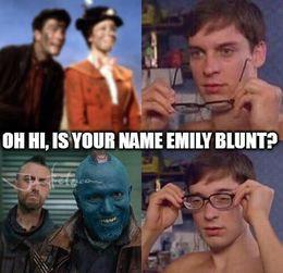 Emily blunt funny memes