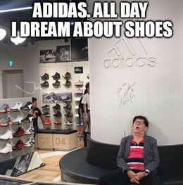 Adidas funny memes