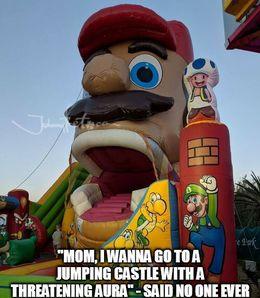 Jumping castle memes