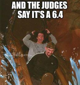 The judges say memes