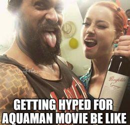 Aquaman movie memes