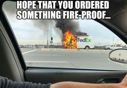 Fire proof memes